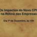 Palestra: Os Impactos do Novo CPC na Rotina das Empresas