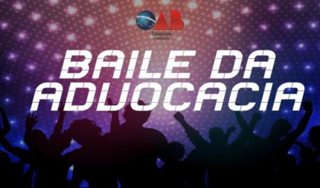 Baile da Advocacia 2017: adquira seu convite