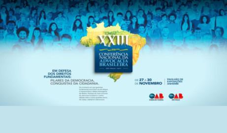 XXIII Conferência Nacional da Advocacia: confira os eixos temáticos