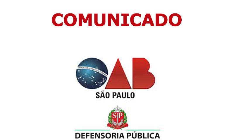 aba1f18f81012 A Comissão de Assistência Judiciária da OAB Campinas comunica aos advogados  inscritos no Convênio da Defensoria Pública do Estado de São Paulo que as  ...